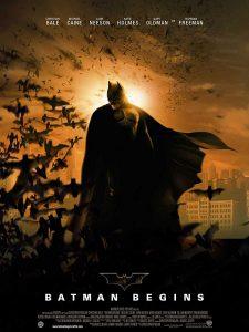 The Poster for Batman Begins