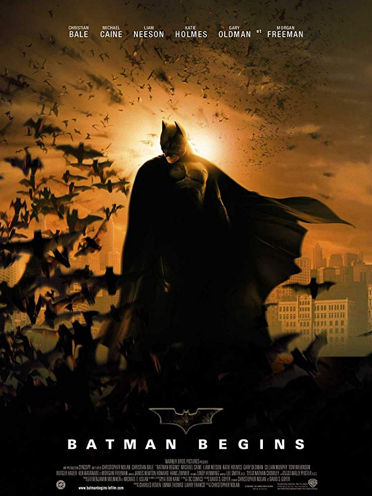 The Poster for Batman Begins