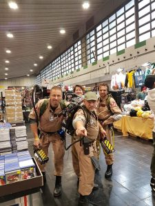Ghostbusters Cosplay at German Comic Con